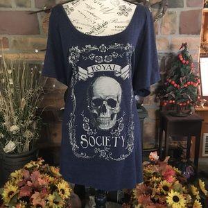 Royal Society Skull Tee